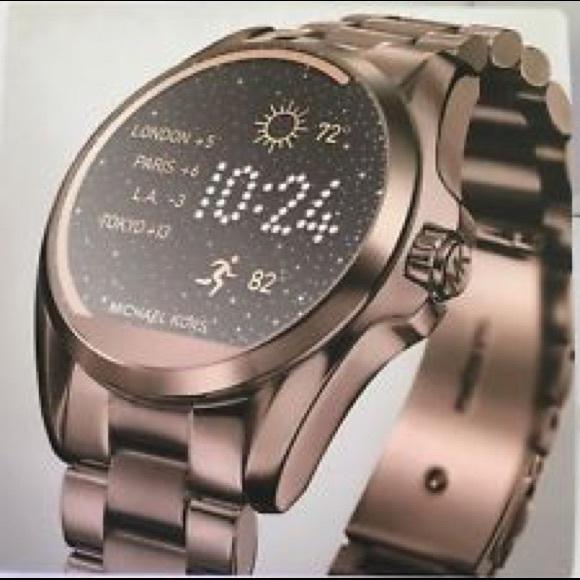 Michael Kors Accessories | Access Bradshaw Smartwatch Bronze